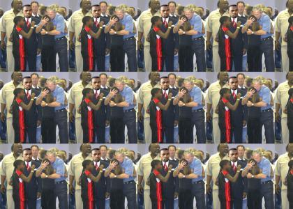 George Bush care about black people
