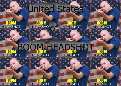 United States of BOOM HEADSHOT