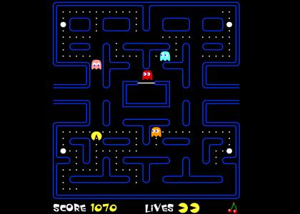 Pacman goes...
