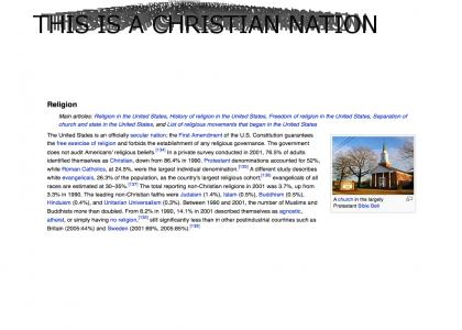 This Is A Christian Nation