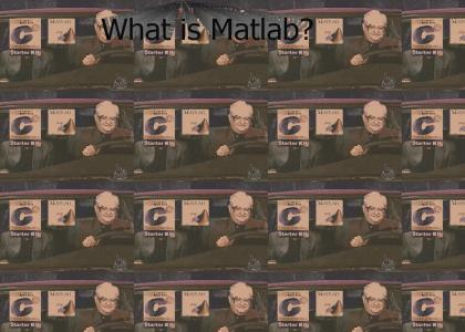 KOENTMND: What is Matlab?