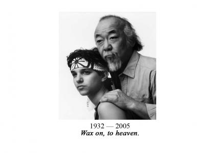 "Sayonara Sensei: Noriyuki  ""Pat"" Morita, 1932-2005"