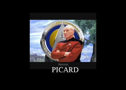 Smash Bros. Brawl Newcomer: Picard