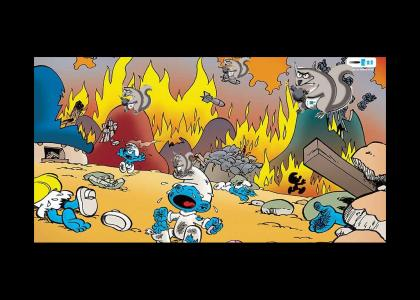 Smurfs thought they had it all...