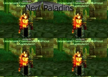 Paladin Works It