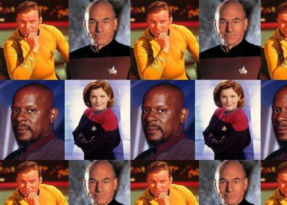 The Kirk Picard Sisko Janeway Star Trek song