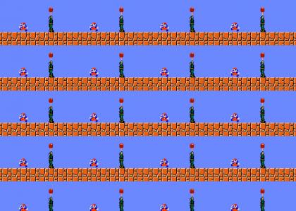 Snake VS Mario!