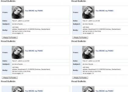 Robert Schumann's Myspace Suicide