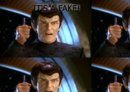 DS9: IT'S A FAKE!