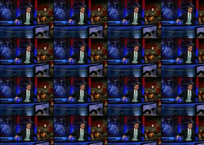 Colbert Fights the Bear Menace