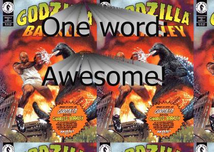 Godzilla vs. Charles Barkley