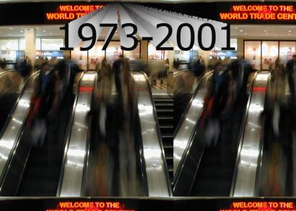 In Memory of WTC: Escalators
