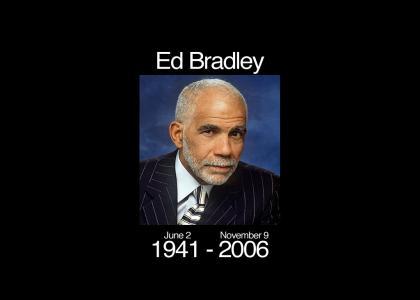 Homer Simpson is Ed Bradley! (1941-2006)