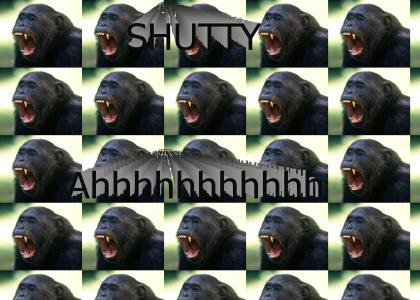 Shutty. The Screaming monkey.