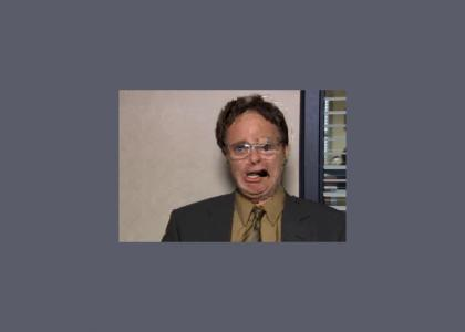 Dwight Schrute critical error.