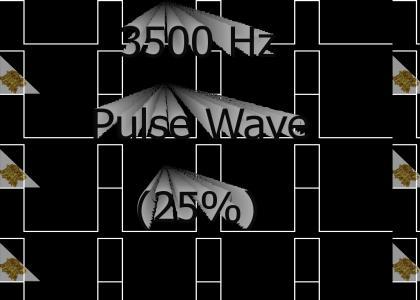 HEH: 3500Hz Pulse Wave