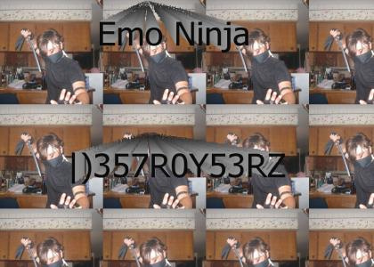 Emo Ninja Will Destroy You All