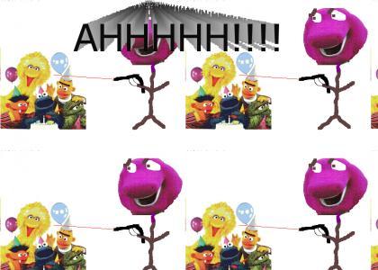 Barney is Physco