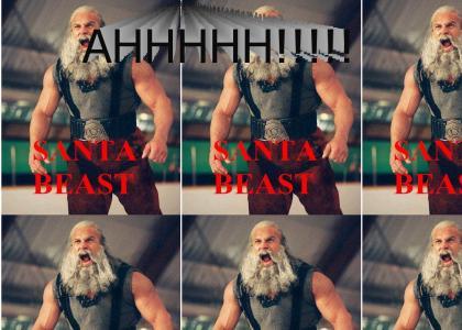 Santa is the Beast!