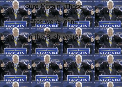 Mccain Says the C Word, WINS ELECTION!