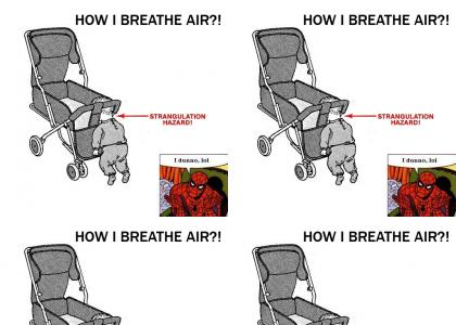 How I breathe air?!