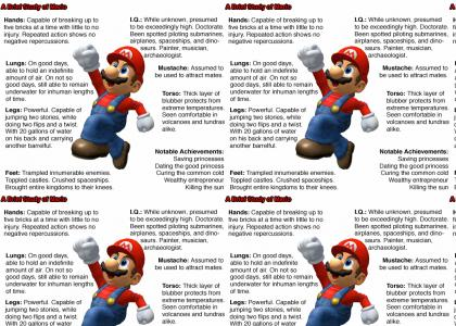 Proof that Mario is Awesome