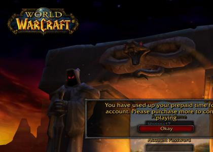 World of warcraft suiside