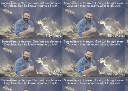 Billy Mays: NOBODY DOES IT BETTER