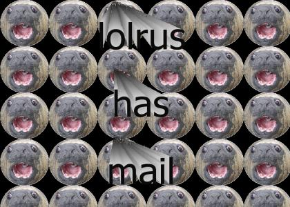 lolrus has mail
