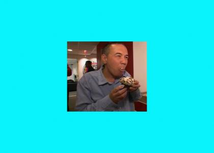 Gilbert Gottfried Enjoys Cupcakes