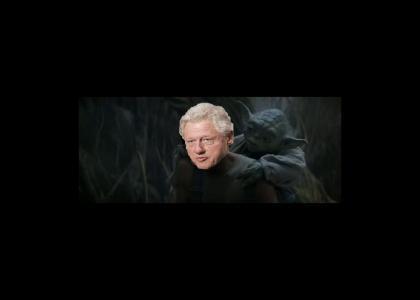 Yoda Advises Bill Clinton