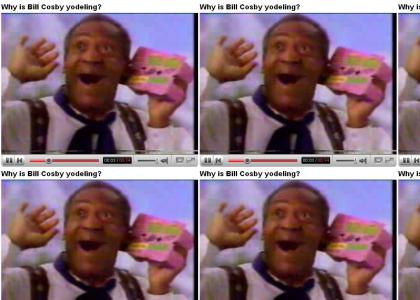 Why is Bill Cosby Yodeling??