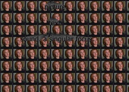 Scully is .. Leek Girl!