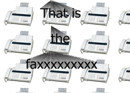 Don West's Fax Machine