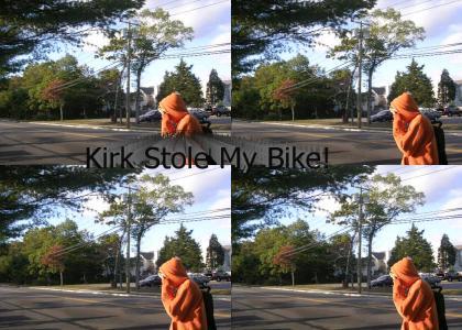Nigga stole my my kirk