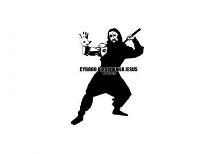 Cyborg Pirate Ninja Jesus