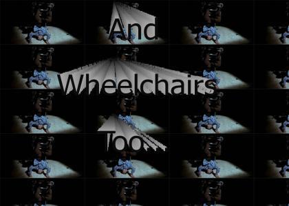 Cripple riddin' spinna's