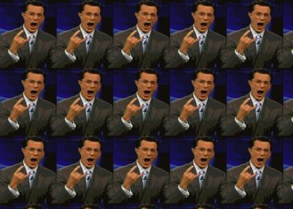Stephen Colbert:God of Metal Facemelter