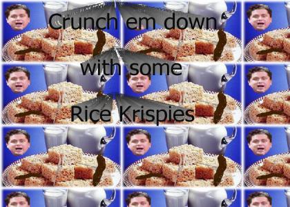 Gorgeous George Rice Krispies