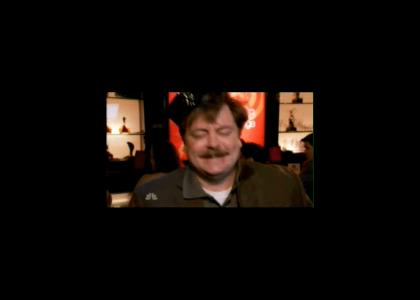 Ron Swanson on Snakejuice