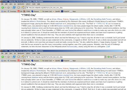 Wikipedia made it official- YTMND-war