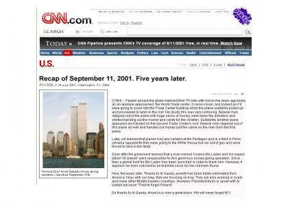 PTKFGS: September 11, 2001