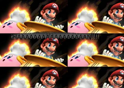 Mario Expresses His Pain