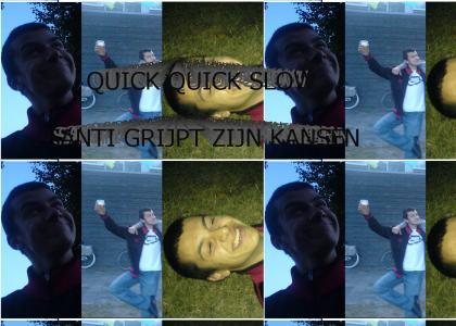 Santi is crazy