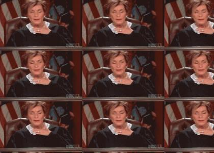 Judge Judy's shaking courtroom drama!