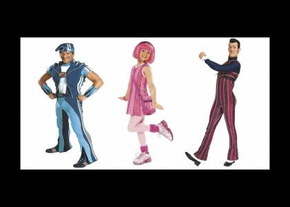 lazytown shakin hips for good