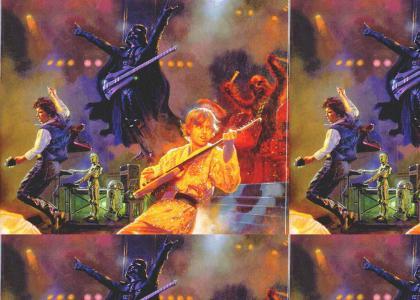 Star Wars Glam Metal band