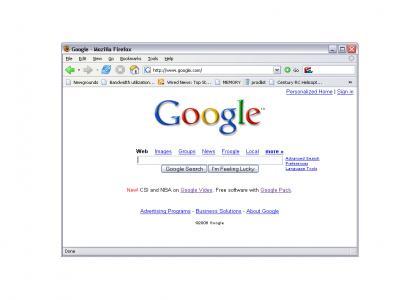 Google finds itself