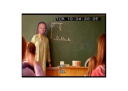 David Carradine Teaches Children