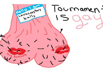 ASSCOCKredux humoring tournament fags